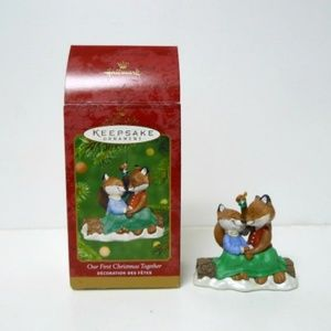 2001 First Christmas Together Ornament